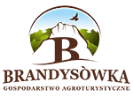 Logo Brandysowka camping Cracow, hostel, agrotourism
