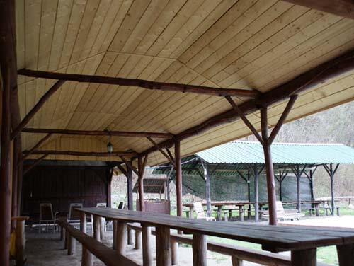 Campsite Kraków camping jura Wooden sheds