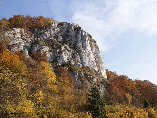 Rockclimbin Sokolica in the Bedkowska Valley