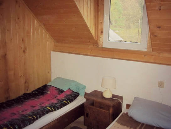Brandysowka hostel, two-bed room, twin room
