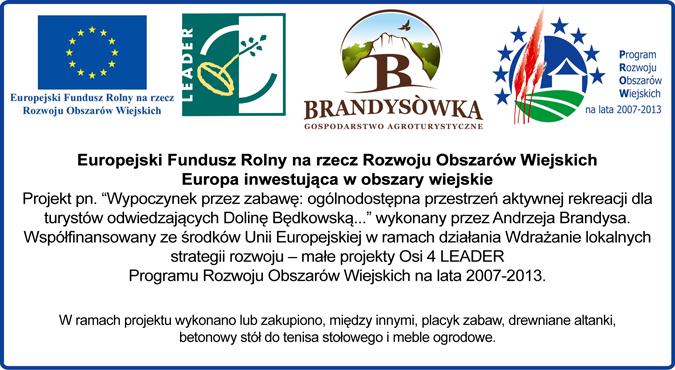 PROW baner UE EFRROW