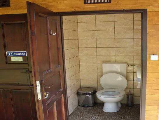 Toalety Camping Dolina Będkowska Climbing