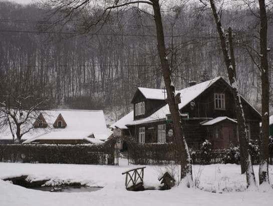 Brandysówka w zimie, Dolinki Krakowskie