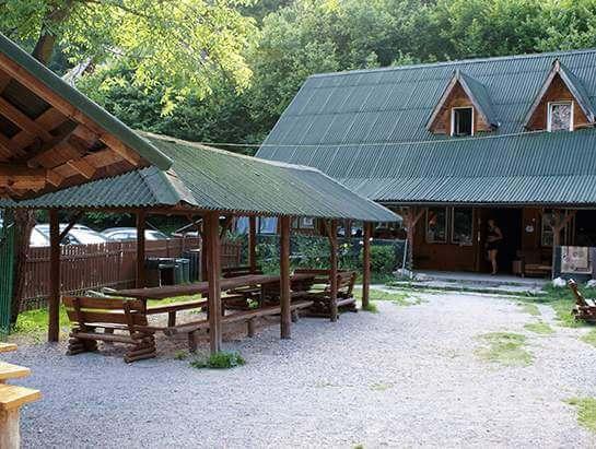 Brandysowka household, frontyard