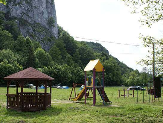 Camping near Kraków, climbing Sokolica
