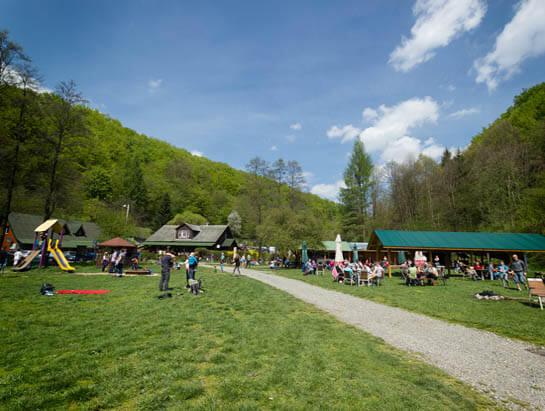 Camping pod Krakowem kemping i restauracja w Dolinie Będkowskiej