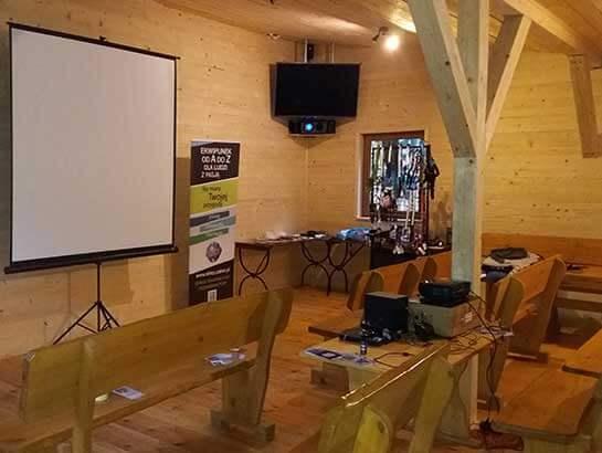 Sala multimedialna do wynajęcia na imprezę lub szkolenie