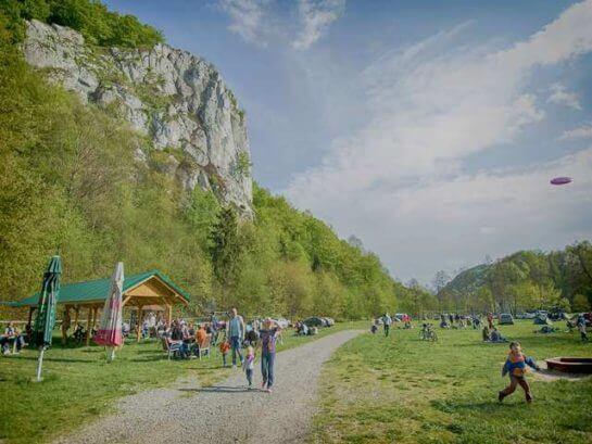Tani camping Jura. Kemping blisko Krakowa.